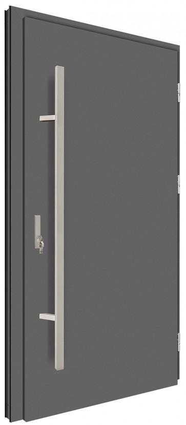 Drzwi zewnętrzne pełne 68mm MK-DOOR