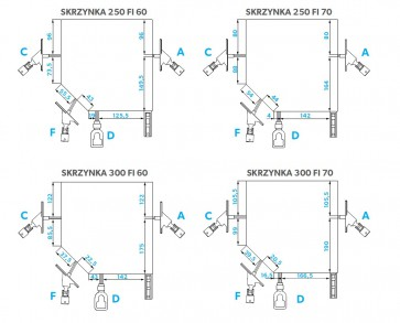 BRAMPOL Brama Rolowana PA77 ECO