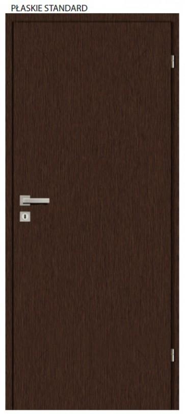 Drzwi wewnętrzne Standard Płaskie