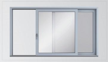 Alukonstrukt okno przesuwne HST