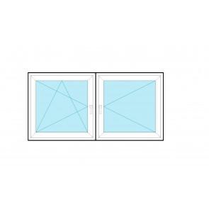 Aluplast Rozwierno - uchylne + Rozwierne RU+R